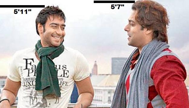 Ajay and Salman