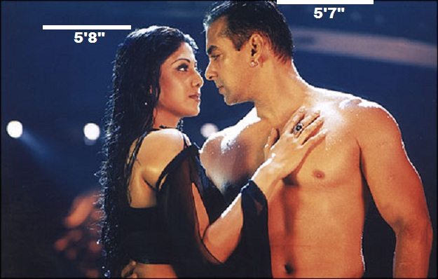 Salman Khan with Shilpa Shetty