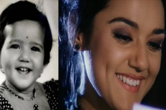 preaity zinta little girl