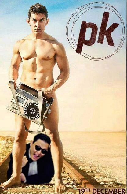 AamirKanGangnamstyle