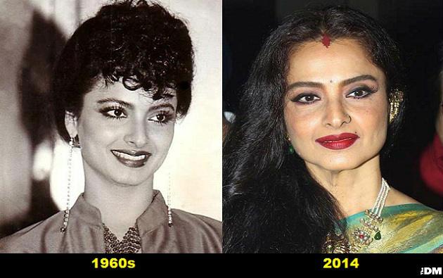 Rekha old bollywood actress so?