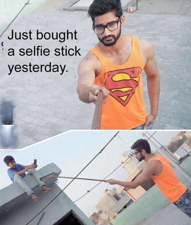 selfiestick