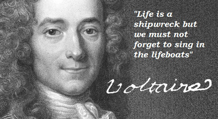 Voltaire life quotes