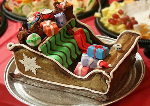 sleigh-cake