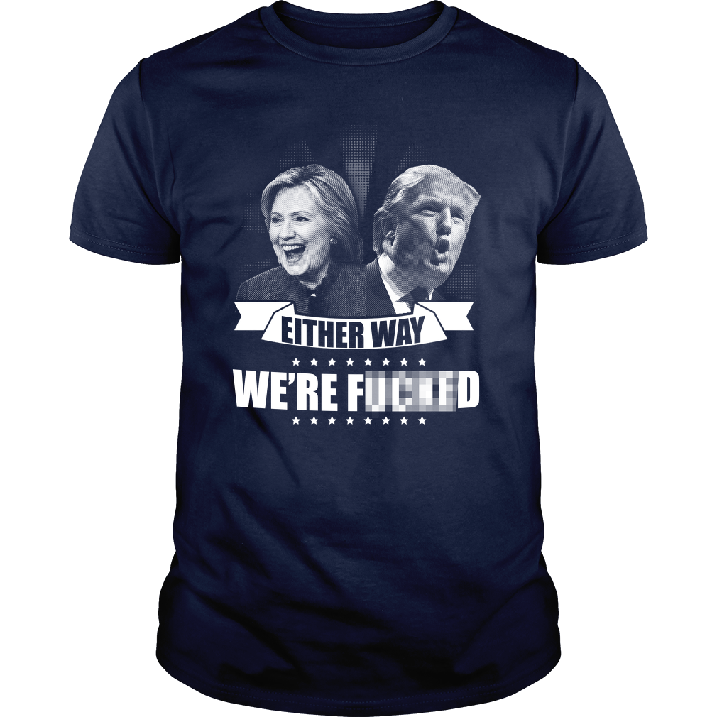 Hillary Clinton v Donald Trump Funny T-Shirt Meme