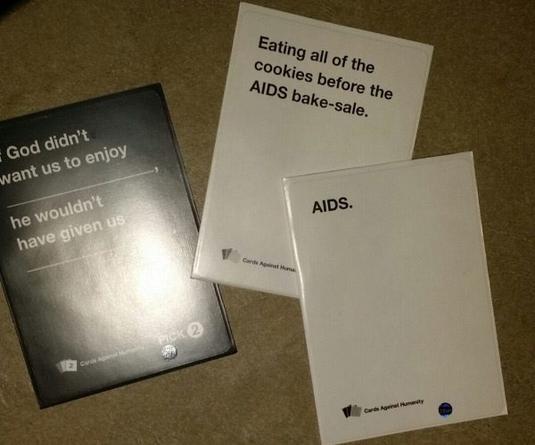 Image of: Combos 19 God Didnt Want Us To Enjoy Funny 20 Highly Offensive Cards Against Humanity Draws Lol