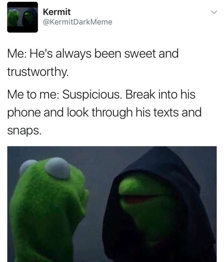 Evil Kermit Memes Are So Hot Right Now