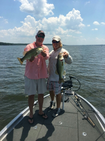 Lake fork guide brooks rogers launches spring 2017 fishing for Lake fork fishing guides