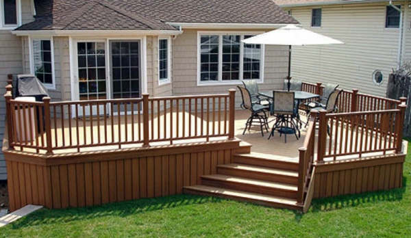 New deck repair and railings solutions for patios and for Sundecks designs