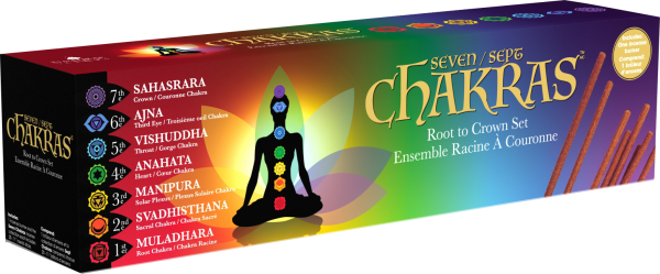 Lightning Deal on Amazon.com for Chakras Incense Root to ...