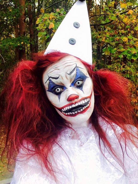 clown makeup costume scary fear