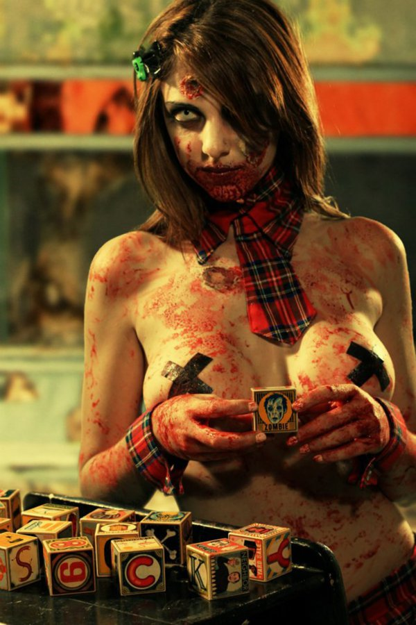 sexy zombie 101