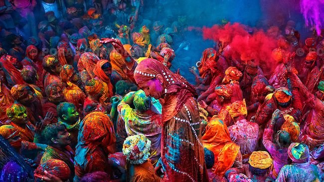 indian holi festival of colors