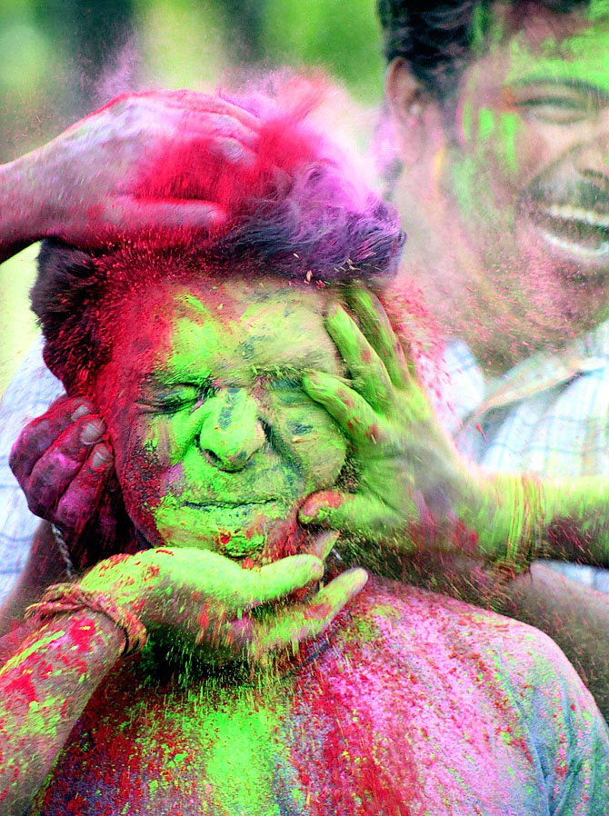 indian holi spring festival of colors