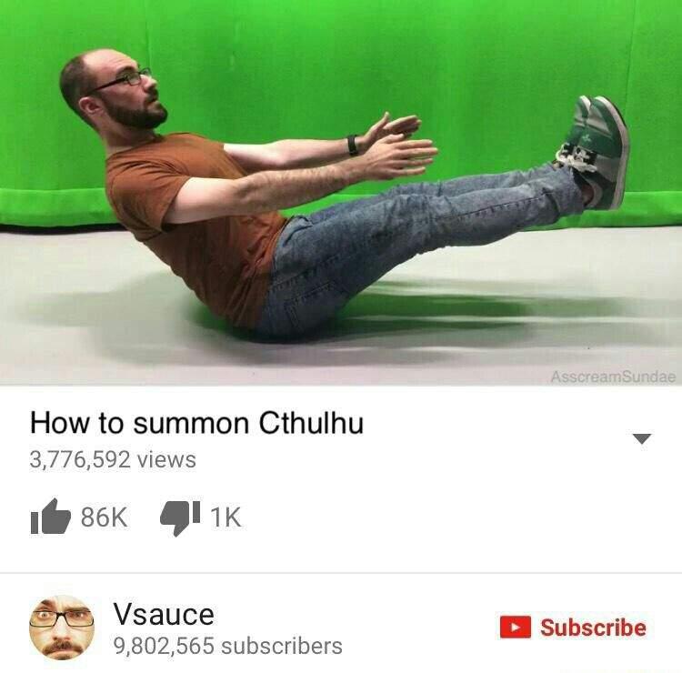 vsauce meme