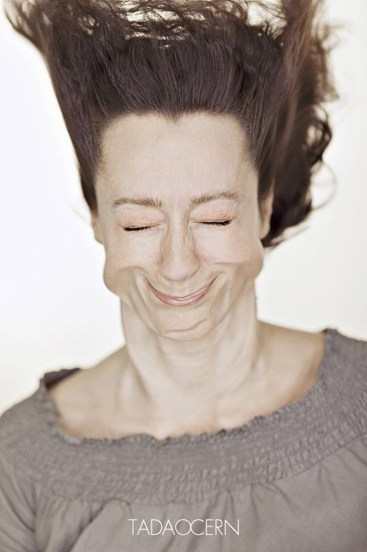 funny facial face expression