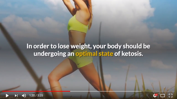 new youtube video from just fitter reveals useful facts about keto diet