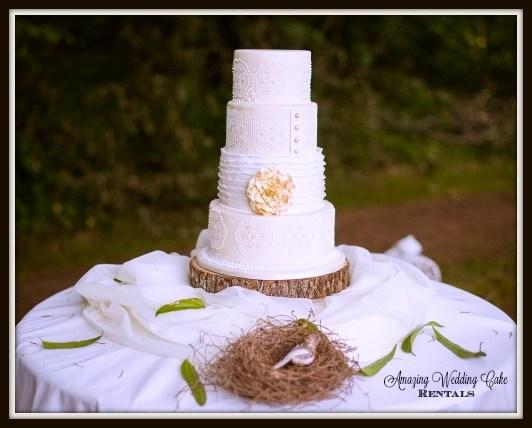 A New Site Has Been Launched Offering High Quality Affordable And Beautiful Wedding Cake Rental Service Amazing Rentals Offers This