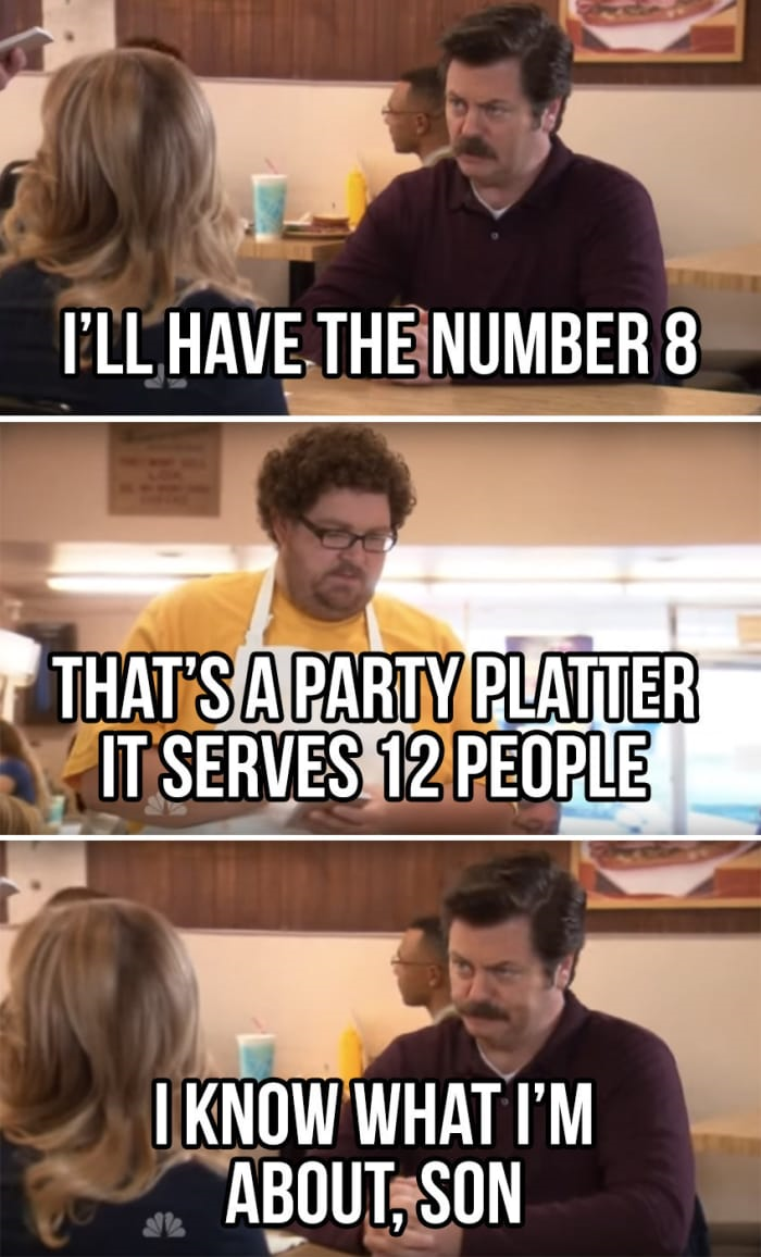 parks and rec memes