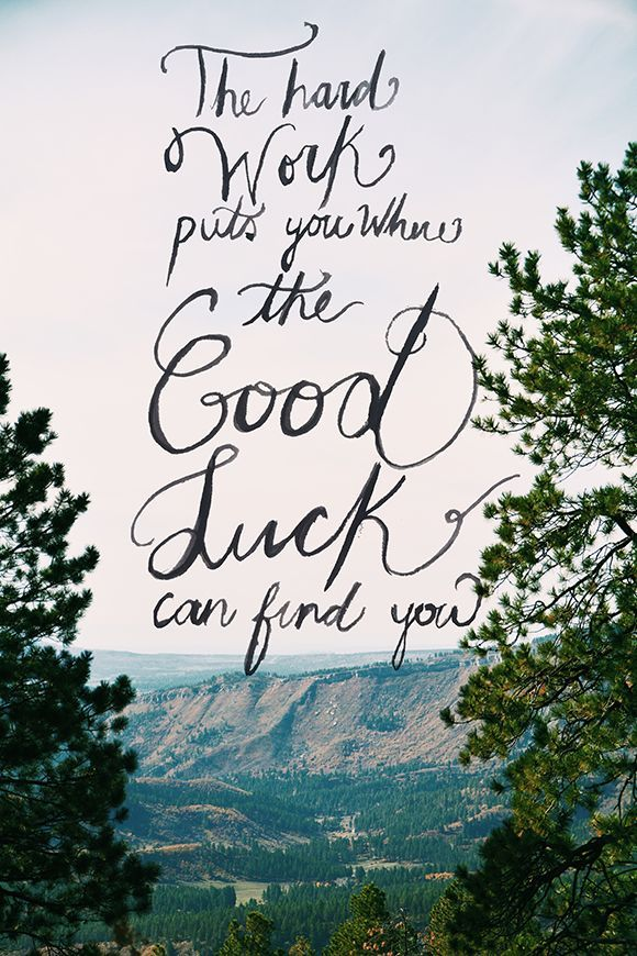 good luck for future quote