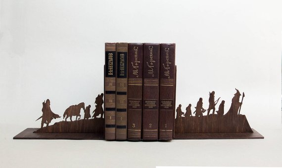 nerdy bookend