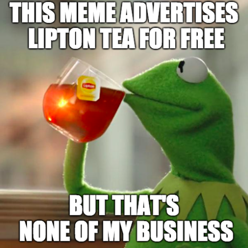 But That's none of my business meme
