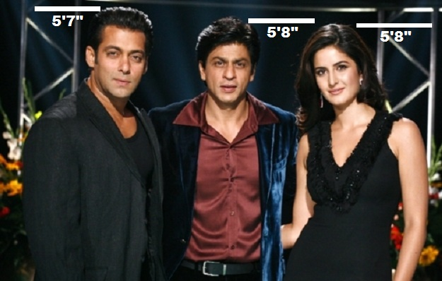 Salman and Sharukh posing together