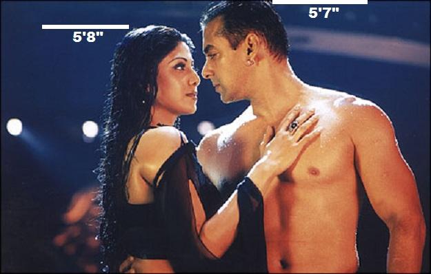 Salman Khan with Shilpa Shetty