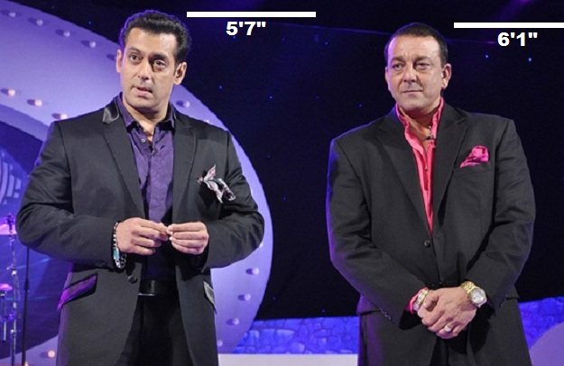 Salman With Sanjay Dutt