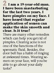 acne problem Mahinder Watsa