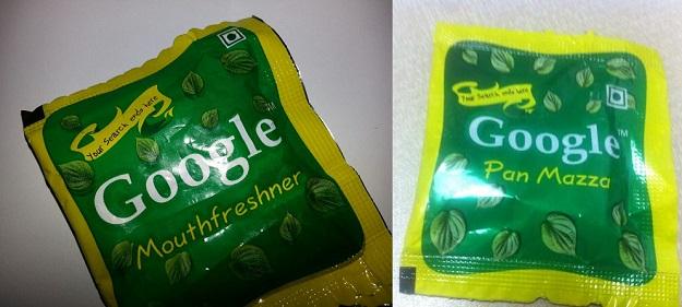 GooglemouthfreshnerIndia