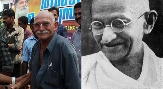 MahatmaGandhilookalike
