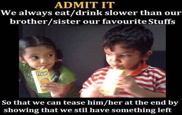 sister brother bonding