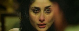 kareena cries tears makeup