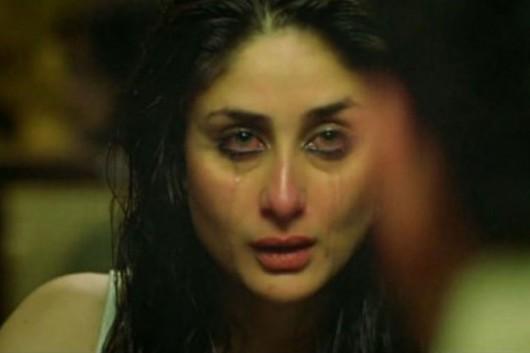 kareena cries tears makeup