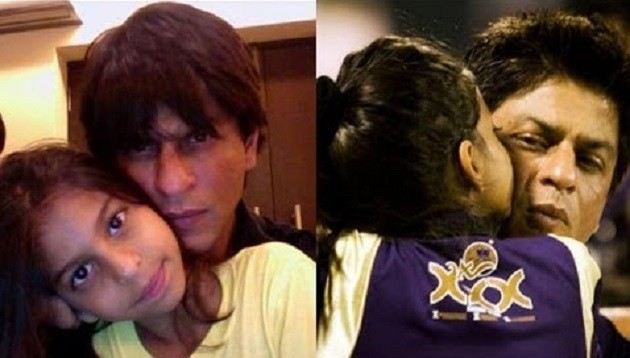 SRK with daughter