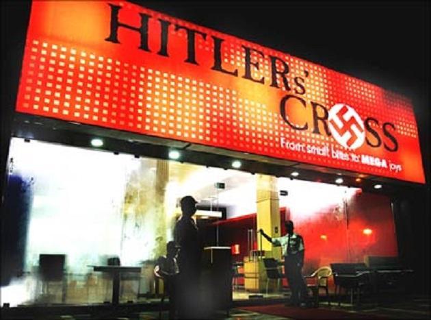 HitlerCrossrestroMumbai