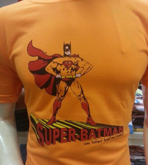 Funny T-Shirts Superbatman