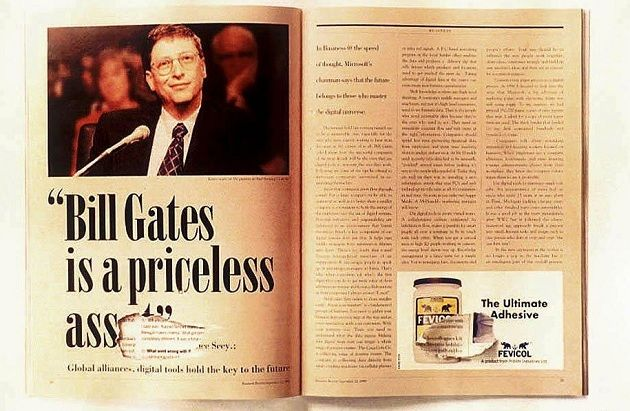 Fevicol Bill Gates