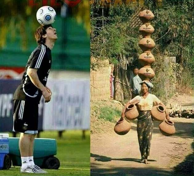 Indian Messi funny indian pictures