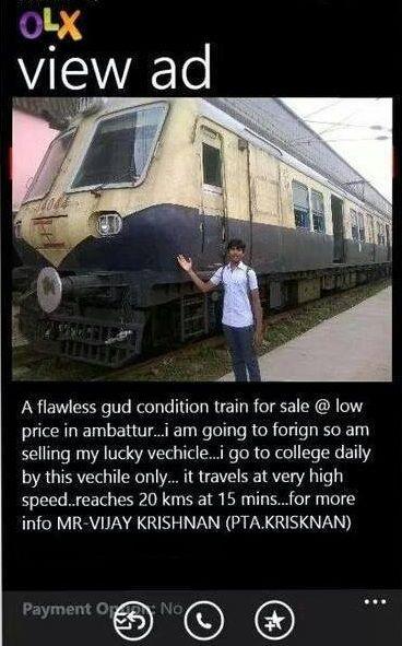 olx train