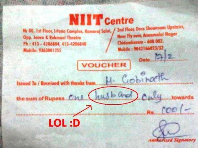 receipt rip english