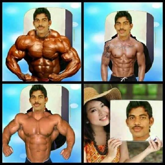 man photoshop desi