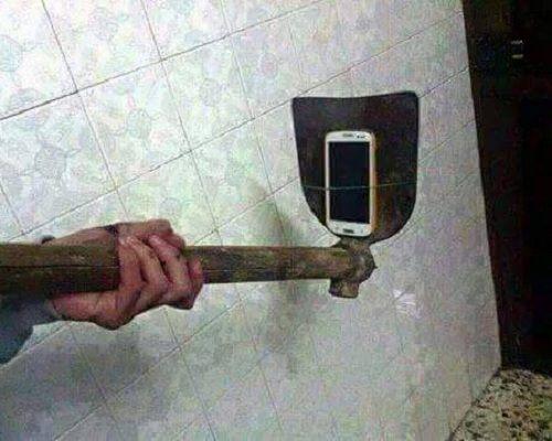 selfie device