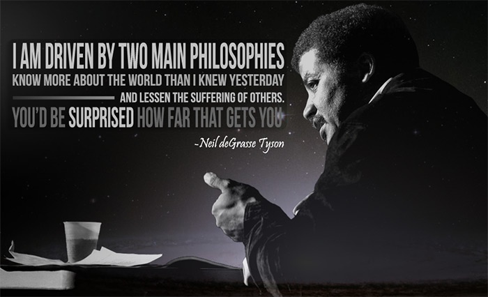 neil deGrasse Tyson life quotes
