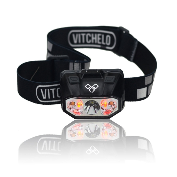 bright waterproof vitchelo camping headlamp see while outdoors dual purpose prod