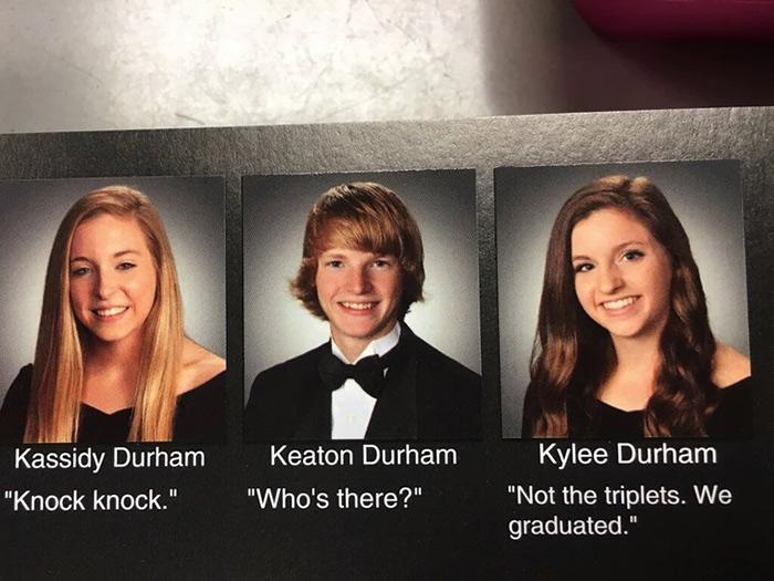 Senior High School Quotes