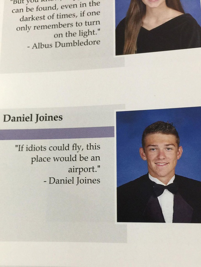 19 Funny Senior High School Quotes From This Millennium