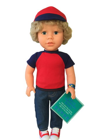 find out how 18 inch boy dolls can raise disability awareness among children by