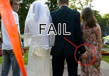 Awkward Wedding Pictures